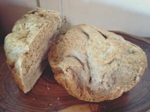 Wholewheat Sweet potato Bread